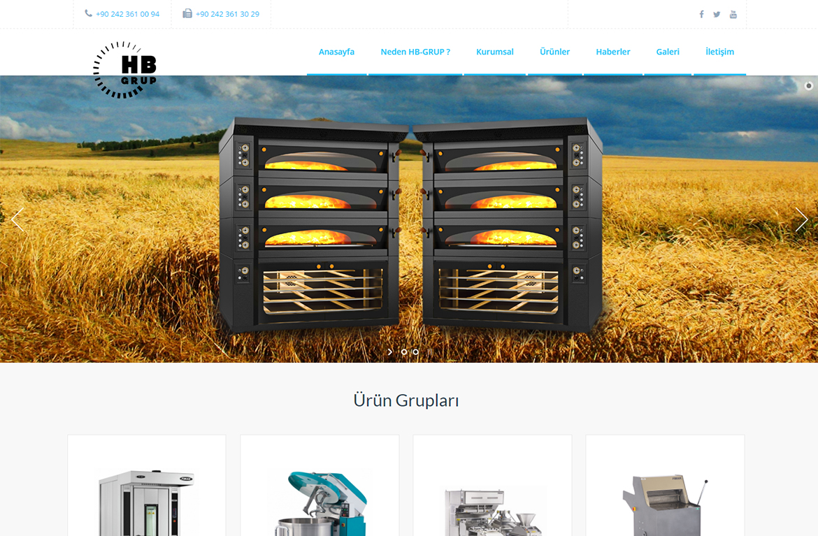 Our Web Site is published